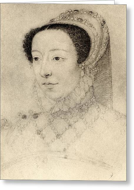Medic Greeting Cards - Catherine De Medici Queen Of France Greeting Card by Ken Welsh