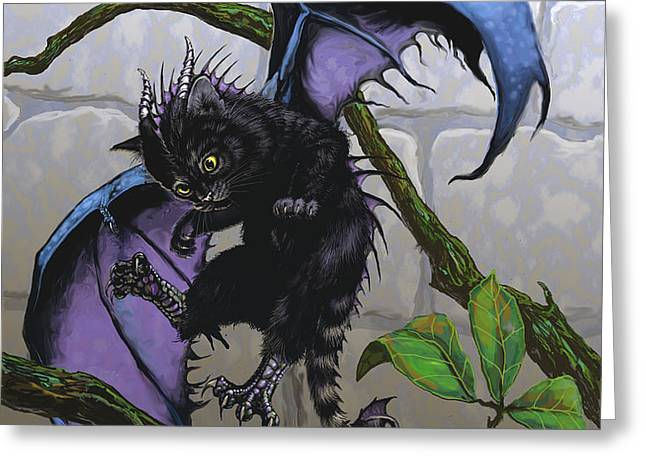 CATRAGON Greeting Card by Stanley Morrison