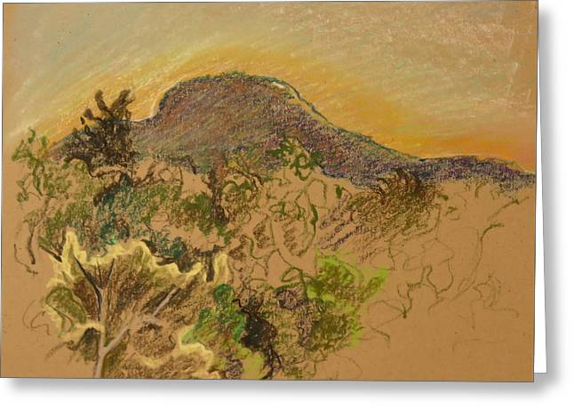 Catskill Mountain High Greeting Card by Bonnie See