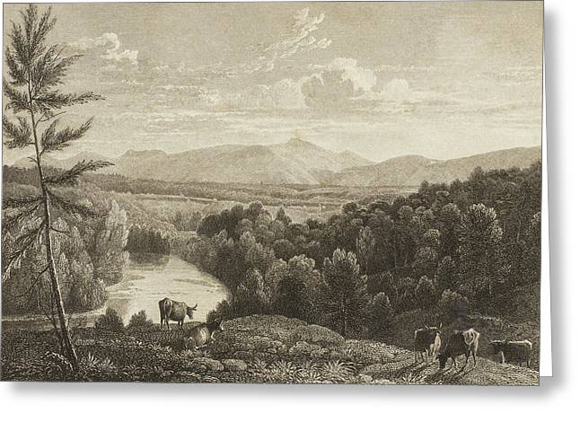 Catskill Mountains Greeting Card by Asher Brown Durand