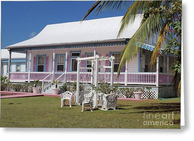 Cayman Houses Greeting Cards - Cayman Islands Traditional House Greeting Card by James Brooker