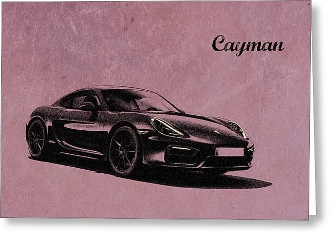 Cayman Greeting Card by Mark Rogan
