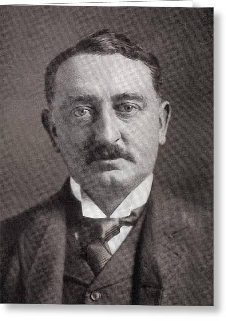 Rhodes Greeting Cards - Cecil John Rhodes, 1853 To1902 Greeting Card by Ken Welsh