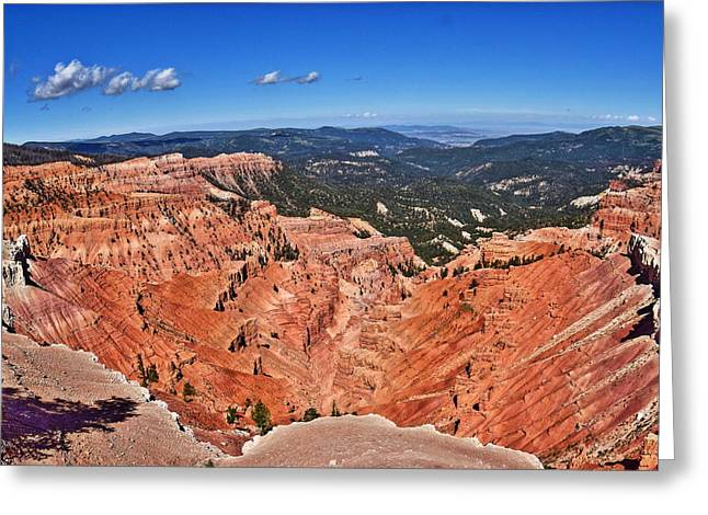 Southern Utah Greeting Cards - Cedar Breaks National Monument Greeting Card by Richard Cheski