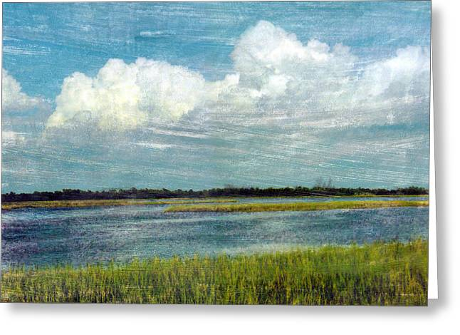 Best Sellers -  - Cedar Key Greeting Cards - Cedar Key 1 Greeting Card by Bob Senesac