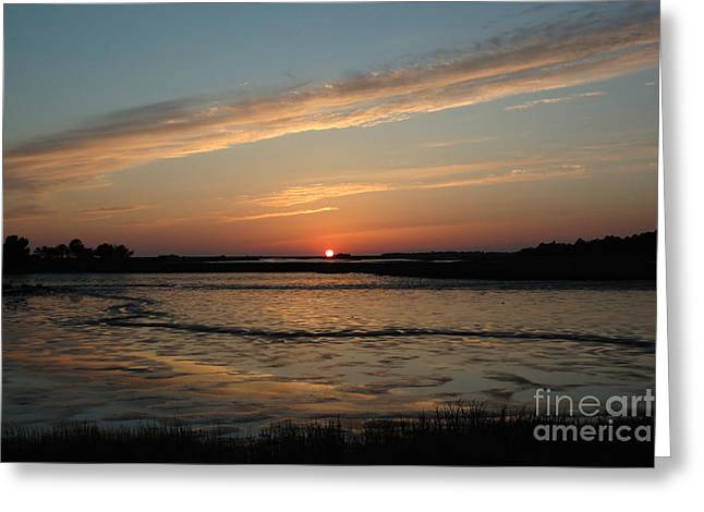 Cedar Key Sunset 1 Greeting Card by Kathi Shotwell