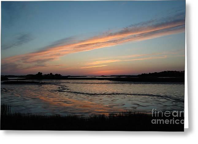 Cedar Key Sunset 2 Greeting Card by Kathi Shotwell