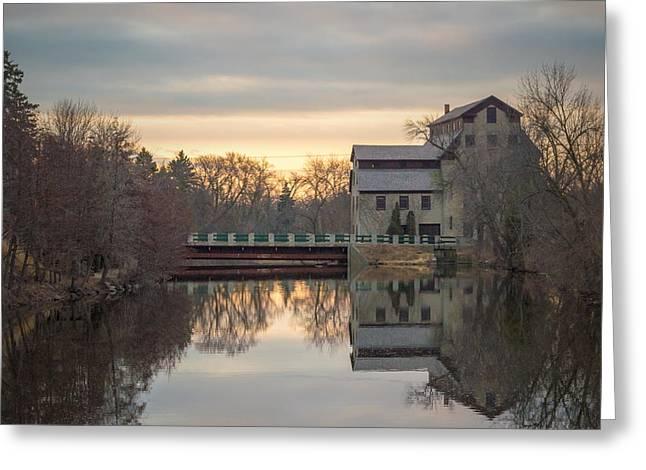 Cedarburg Greeting Cards - Cedarburg Mill Greeting Card by James  Meyer