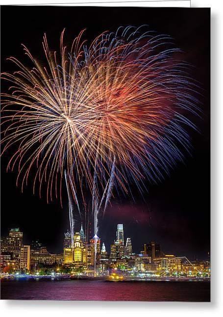 Celebrate Independence  Greeting Card by Jason Gambone
