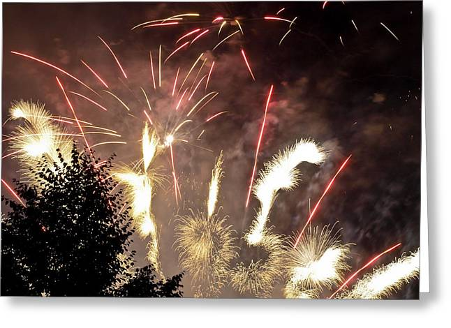 4th July Photographs Greeting Cards - Celebration Greeting Card by Jim DeLillo