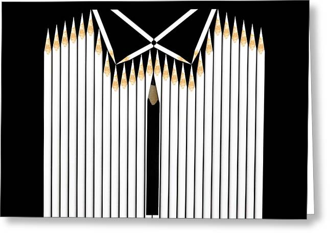 Shirt Greeting Cards - Celebration Greeting Card by Udo Dittmann