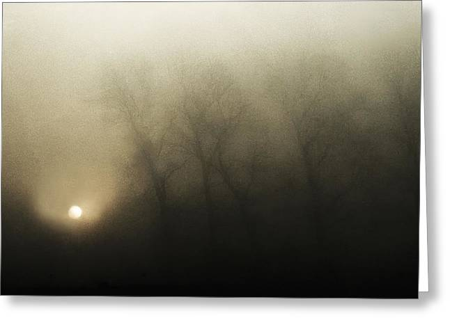 Dawn Greeting Cards - Celestial Melody To The Earth Greeting Card by Yvette Depaepe