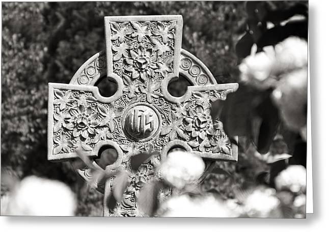 Religious Symbol Greeting Cards - Celtic Cross I Greeting Card by Tom Mc Nemar