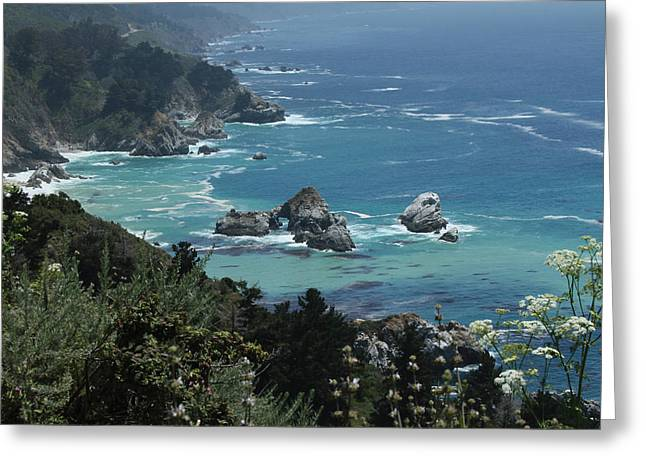 Big Sur Greeting Cards - Central Coast Greeting Card by Jeffrey Ringer