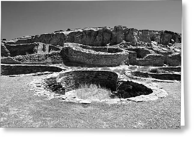 Chaco Canyon Greeting Cards - Chaco Four Greeting Card by Paul Basile
