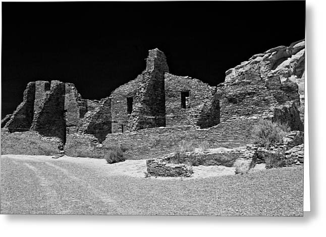 Chaco Canyon Greeting Cards - Chaco Fourteen Greeting Card by Paul Basile