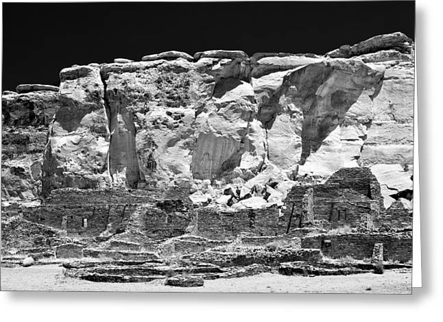 Chaco Canyon Greeting Cards - Chaco Nine Greeting Card by Paul Basile