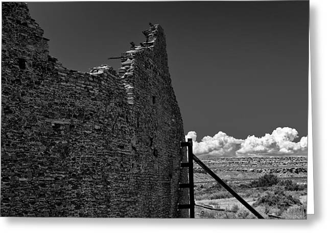 Chaco Canyon Greeting Cards - Chaco Seven Greeting Card by Paul Basile