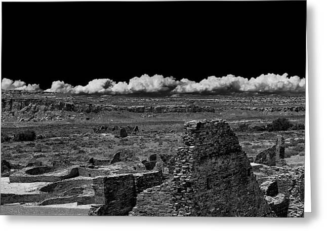 Chaco Canyon Greeting Cards - Chaco Six Greeting Card by Paul Basile