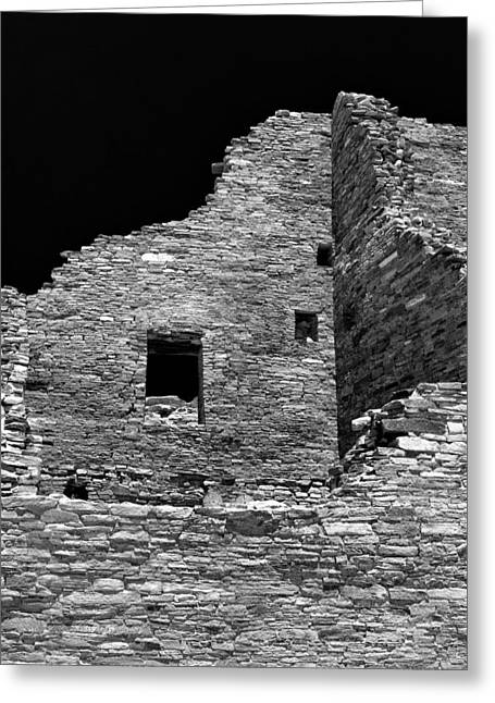 Chaco Canyon Greeting Cards - Chaco Ten Greeting Card by Paul Basile