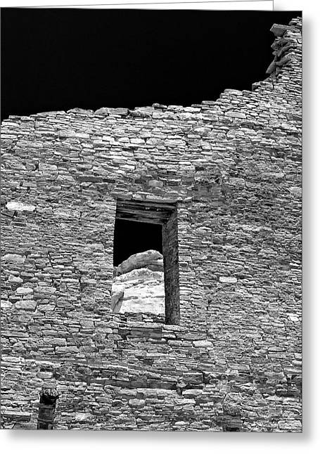Chaco Canyon Greeting Cards - Chaco Thirteen Greeting Card by Paul Basile