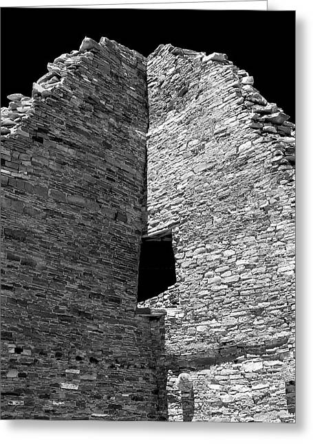 Chaco Canyon Greeting Cards - Chaco Twelve Greeting Card by Paul Basile