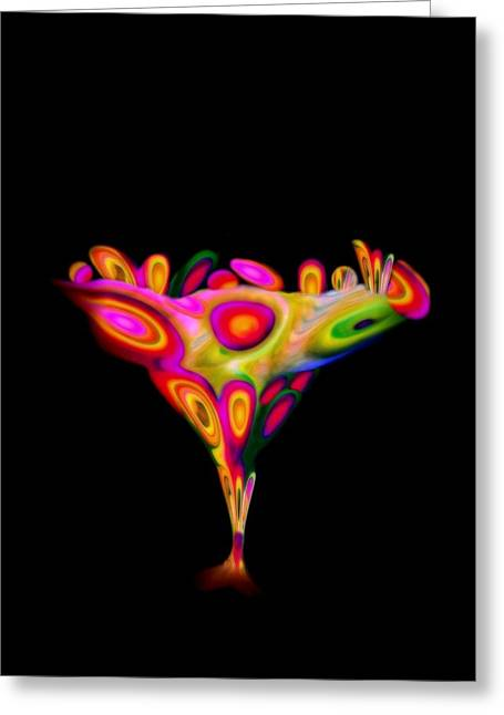Chalice  Greeting Card by Jacqueline Migell