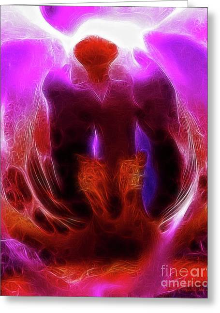 Religious Digital Greeting Cards - Chamber to The Nether Greeting Card by Wingsdomain Art and Photography