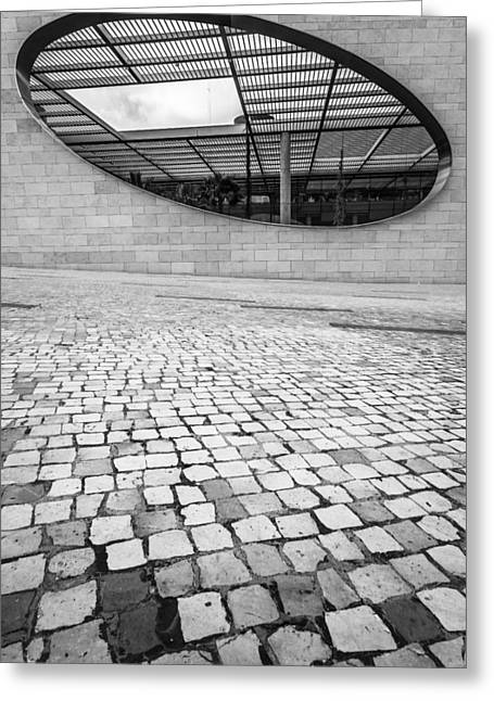Champalimaud Centre For The Unknown II Greeting Card by Marco Oliveira