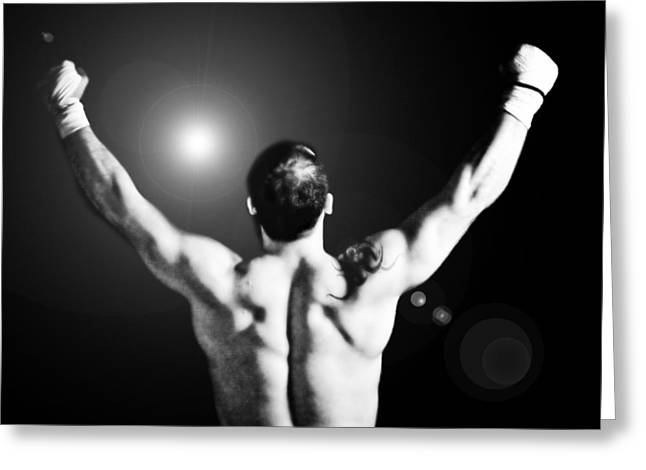 Champion Greeting Card by Dean Farrell