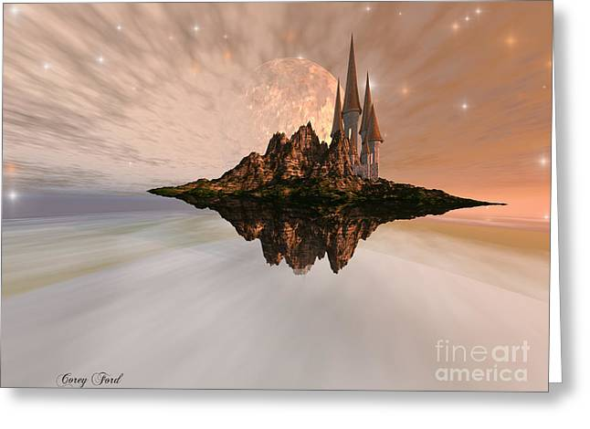 Utopia Greeting Cards - Chandara Greeting Card by Corey Ford