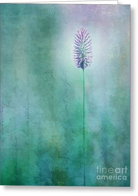 Blossoms Greeting Cards - Chandelle Greeting Card by Priska Wettstein