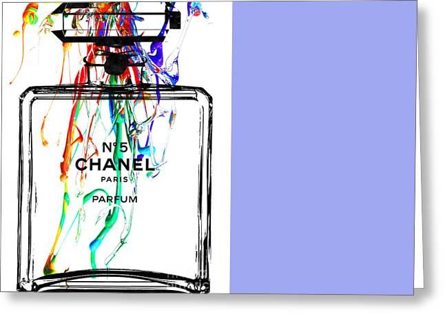 Chanel Greeting Card by Daniel Janda