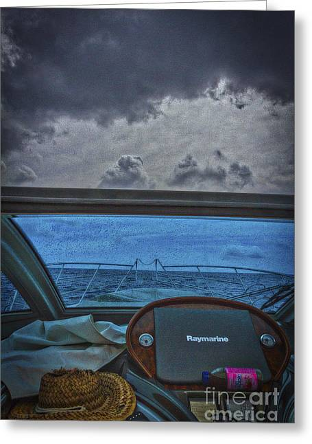 Reading By Window Greeting Cards - Changes In Latitude Greeting Card by Mitch Shindelbower