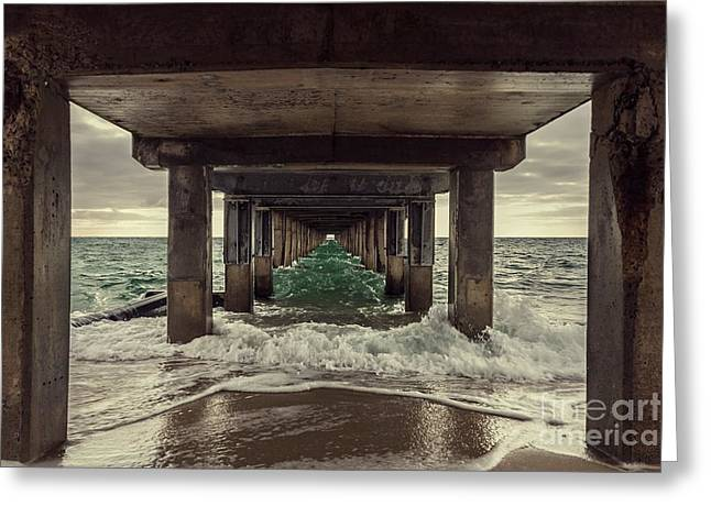 Changing Tides Greeting Card by Andrew Paranavitana