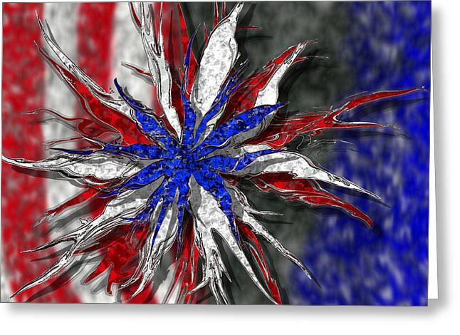 Chaotic Star Project - Take 3 Greeting Card by Scott Hovind