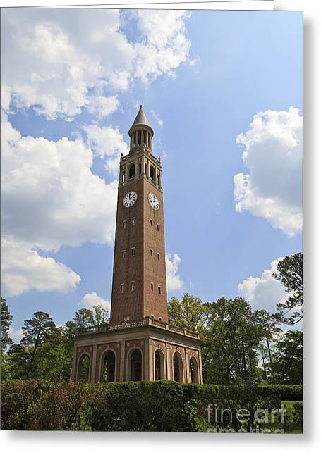 Morehead Greeting Cards - Chapel Hill Bell Tower Greeting Card by Jill Lang