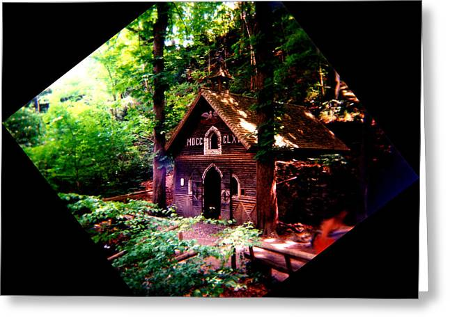 Chapel In The Woods Greeting Card by Kevin Smith