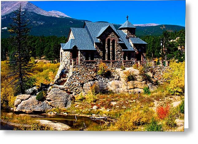 Chapel On The Rock Photographs Greeting Cards - Chapel On the Rock  Greeting Card by James BO  Insogna