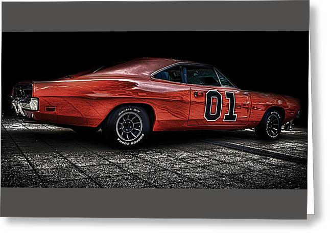 Charger Greeting Card by Martin Newman