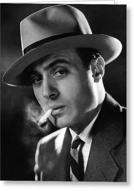 Charles Boyer Photo By Clarence Sinclair Bull 1931 Greeting Card by David Lee Guss