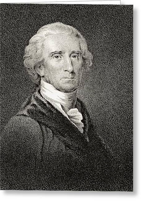 Fame Drawings Greeting Cards - Charles Carroll Of Carrollton 1737 To Greeting Card by Ken Welsh