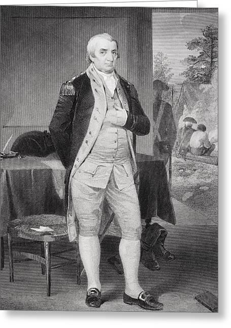 Alonzo Greeting Cards - Charles Coteworth Pinckney 1746-1825 Greeting Card by Ken Welsh
