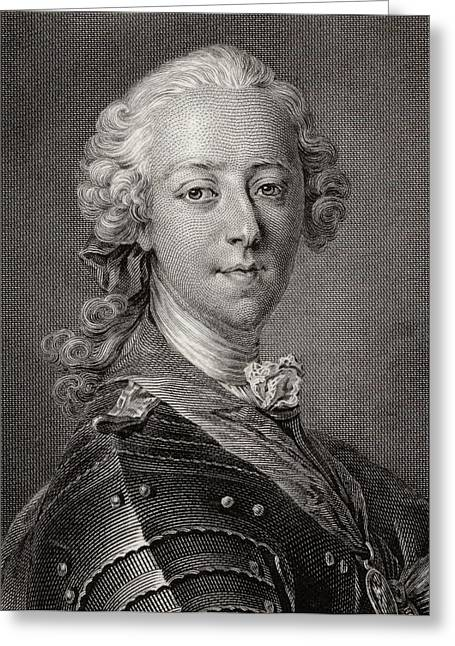 Pretender Greeting Cards - Charles Edward Stuart,the Young Greeting Card by Ken Welsh