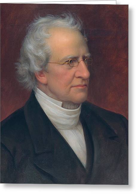 Charles Hodge Greeting Card by Rembrandt Peale