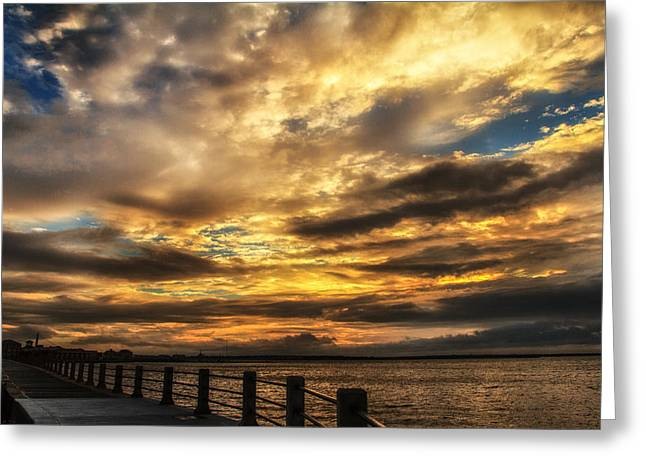 Mccoy Greeting Cards - Charleston South Carolina Greeting Card by A Different Brian Photography