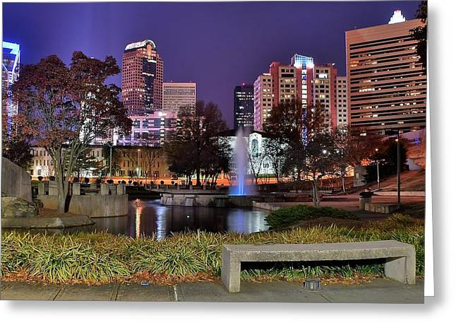 Charlotte From The Park Greeting Card by Frozen in Time Fine Art Photography