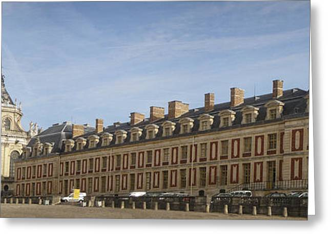 Greeting Cards - Chateau de Versailles Greeting Card by Ivy Ho