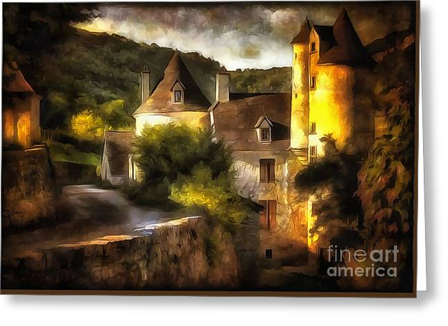 Chateau Greeting Cards - Chateau France I Greeting Card by Jack Torcello