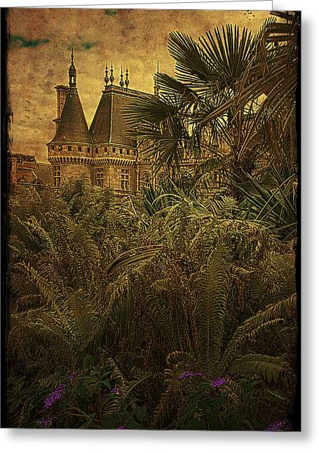 Chateau Greeting Cards - Chateau in the Jungle Greeting Card by Chris Lord